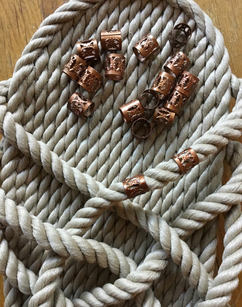 Gold, Copper Or Silver Decorative Rope Wraps