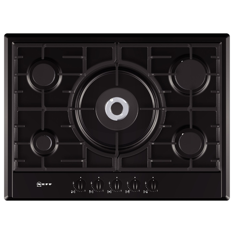 Neff T25S56S0 5 Burner Gas Hob - Black
