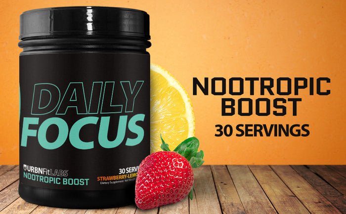 The Best Nootropic Supplement For Focus : Daily Focus