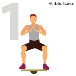 Athletic Stance for Reduced Injury Risk