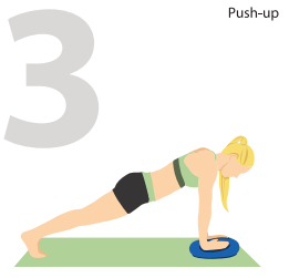 Push-ups for Better Pectorals
