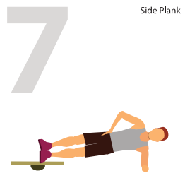 Side Planking for Static Power