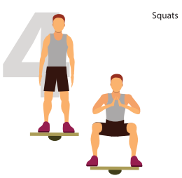 Squats for Awesome Glutes