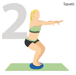 Squats for Powerful Glutes