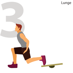 Standing Lunges For Rock Hard Legs