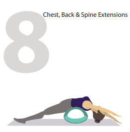 chest and spine extension yoga pose