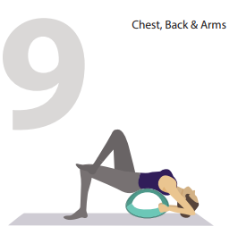 chest and back yoga pose