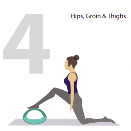 hips and thighs yoga pose