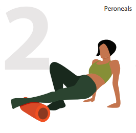 Peroneal Muscles Massage position