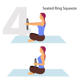 seated ring position pilate