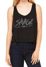 Savage Black Tanks