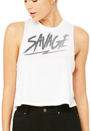 Savage White Tanks