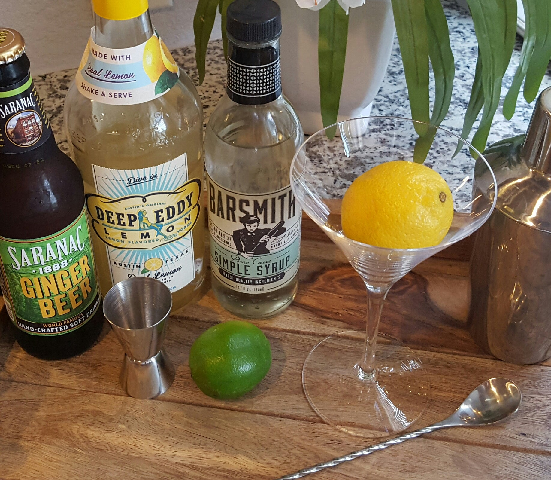 Food Trends: Lemon Ginger Martini