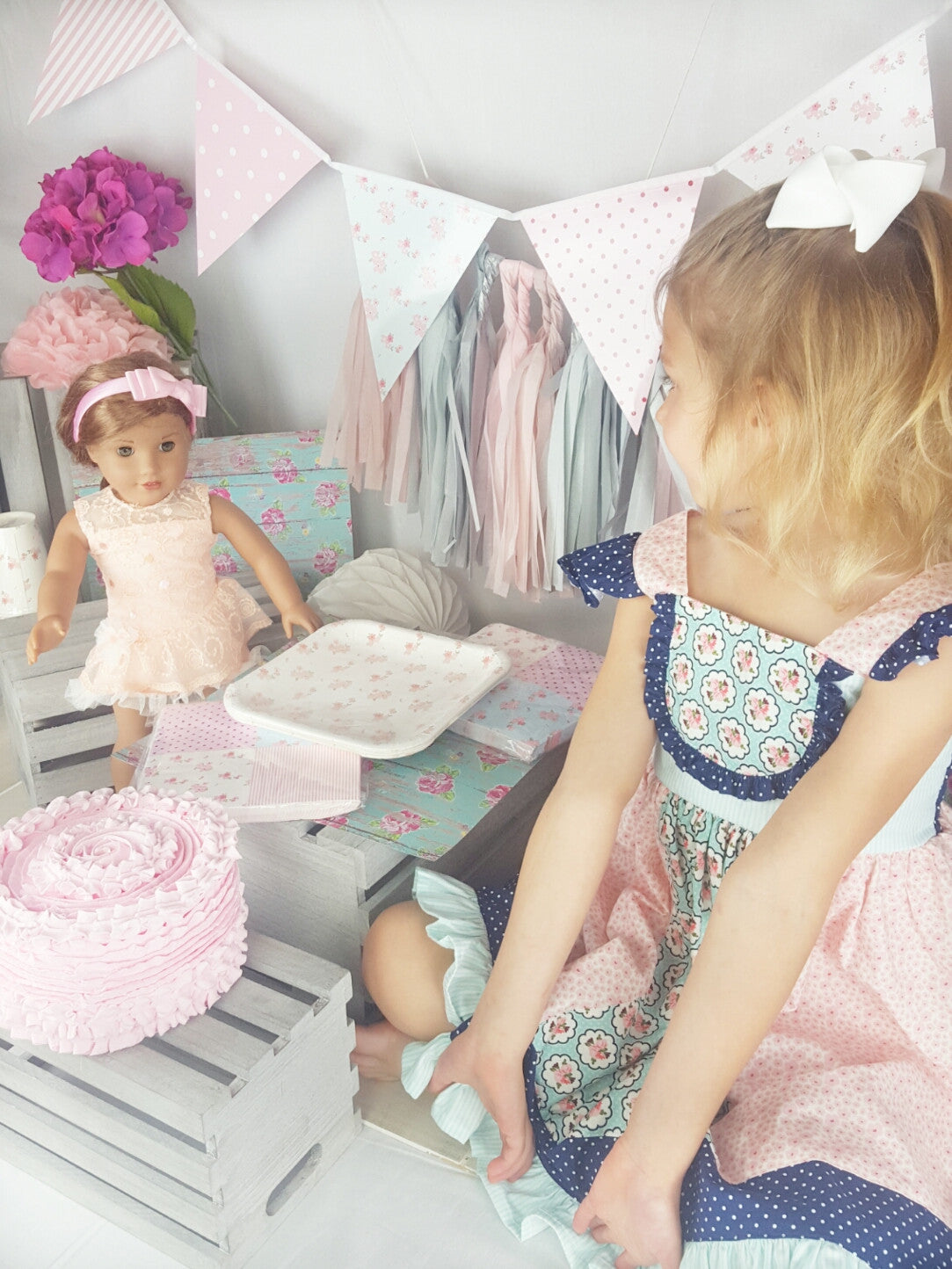 Two for Tea, Tea Party Birthday Party