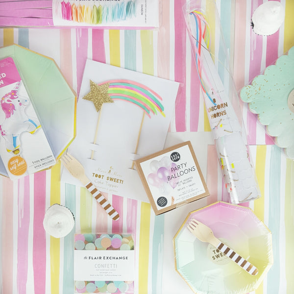 Rainbow Unicorn Pastel Party