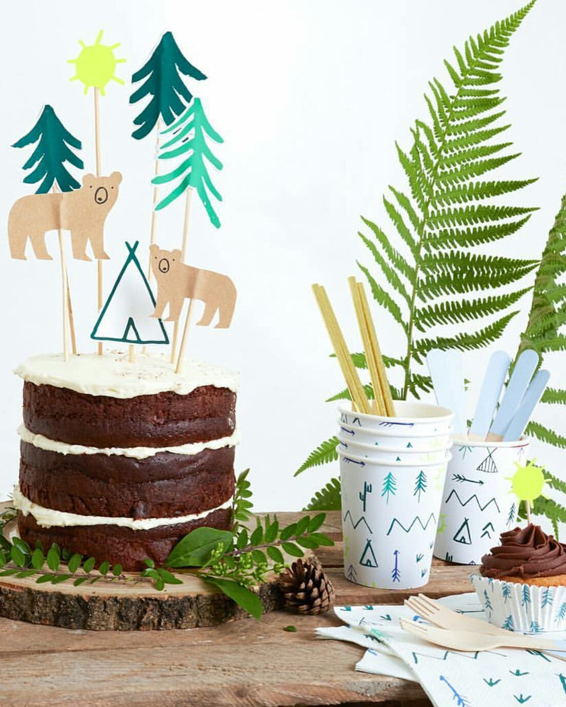 Woodland Camping Forest Themed Party