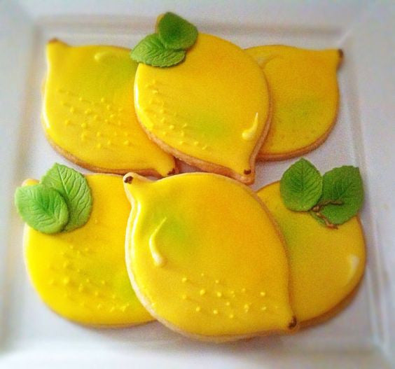 Lemon Shaped Cookies