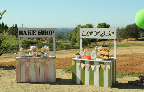 Lemonade and Bake Stand