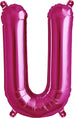 "Pink 16"" Letter Balloons"