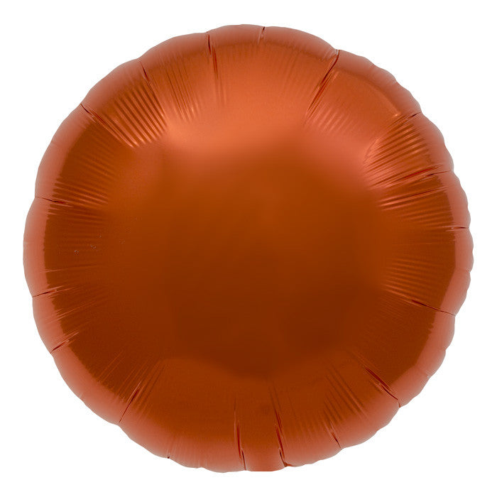 Orange Foil Balloon