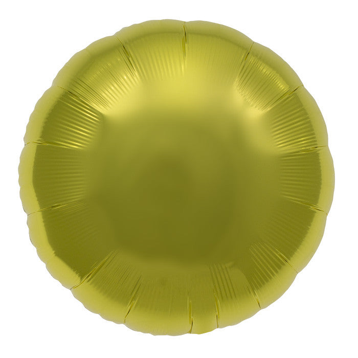 Yellow Foil Balloon