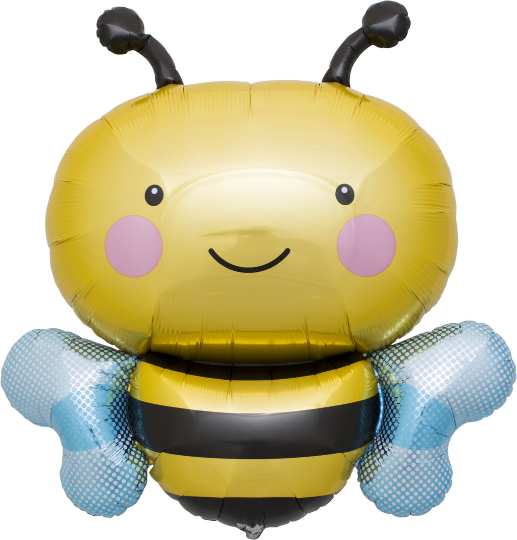 Bumble Bee Balloon for a What Will it Be Party or a Bee Birthday Party