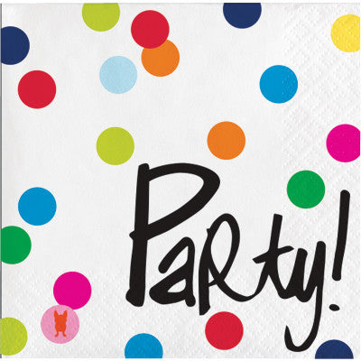 Party Polka Dot Napkins