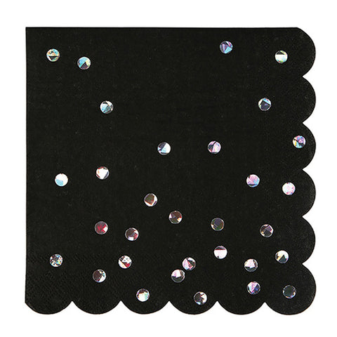 Black Holographic Napkins