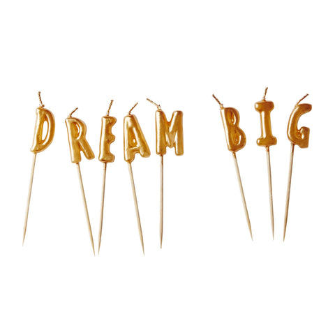 Dream Big Candles