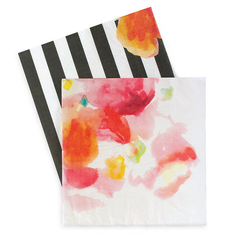 Floral Napkins for Kate Spade or Retirement Party