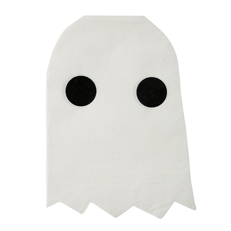 Ghost Napkins for Halloween Party