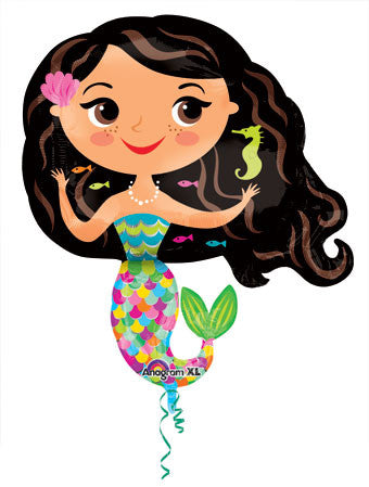 Mermaid Balloon for Mermaid Themed Party
