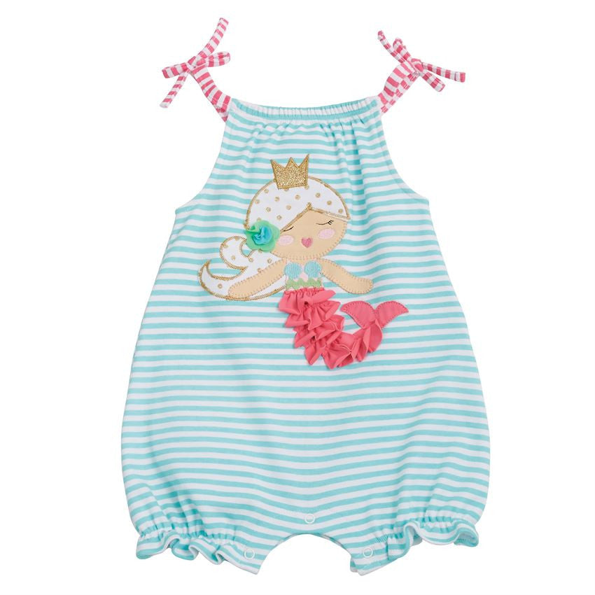 Mermaid First Birthday Bubble Outfit