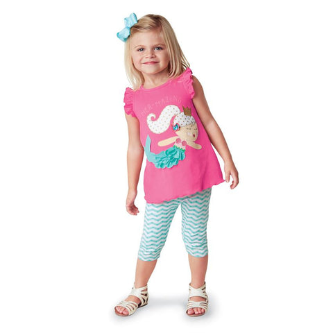 Mermaid Tunic & Capri Set