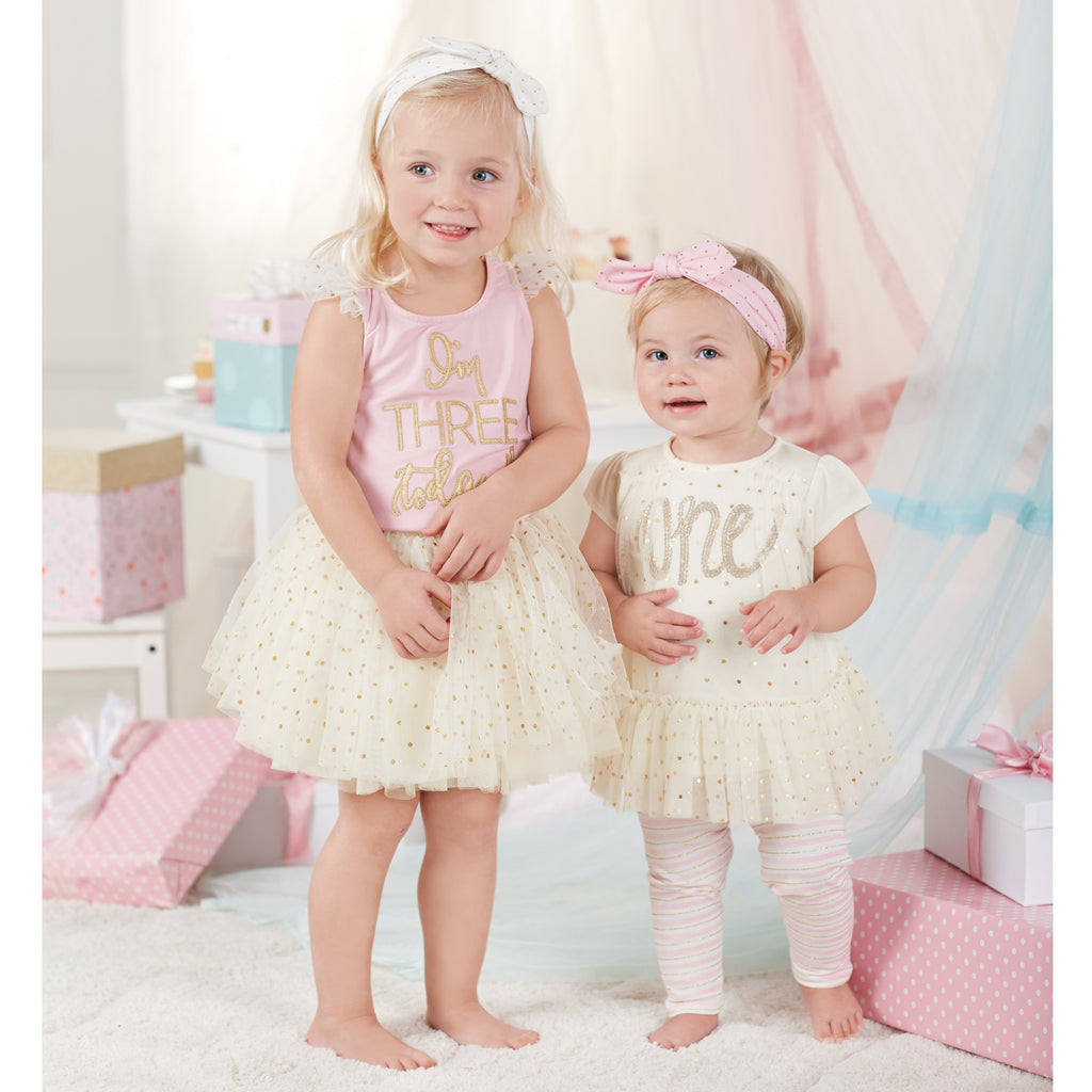 I'm Three Today Tutu Skirt Set