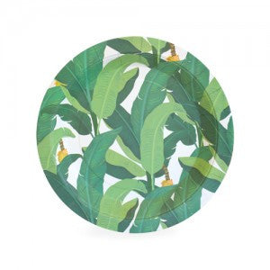 Leaf Plates for Jungle, Safari, Summer Party