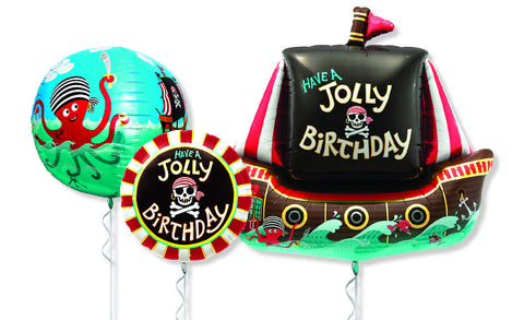 Pirate Ship Balloons