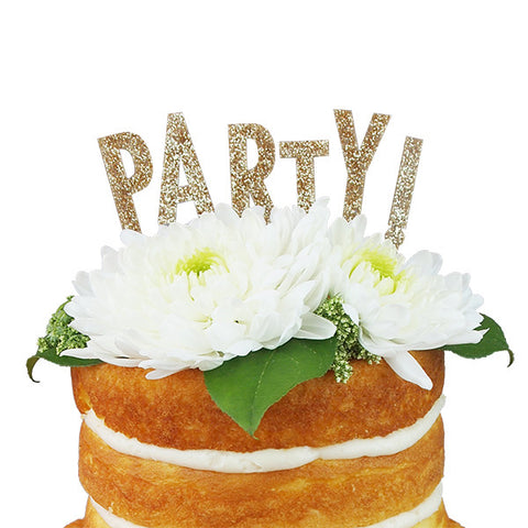 Party Cake Topper