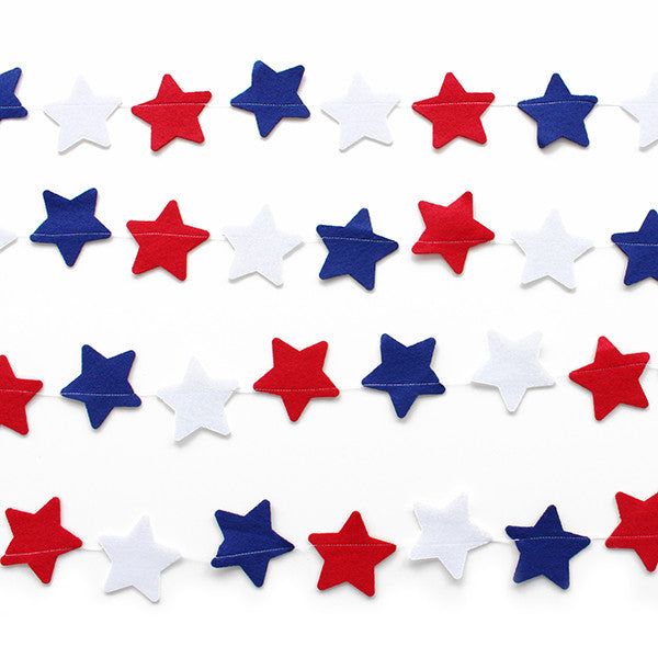 Red White and Blue Star Banner