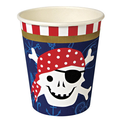 Pirate Cups for a Pirate Themed Party
