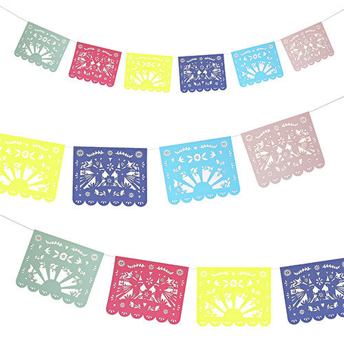 Fiesta Party Garland for Fiesta Themed Birthday Party