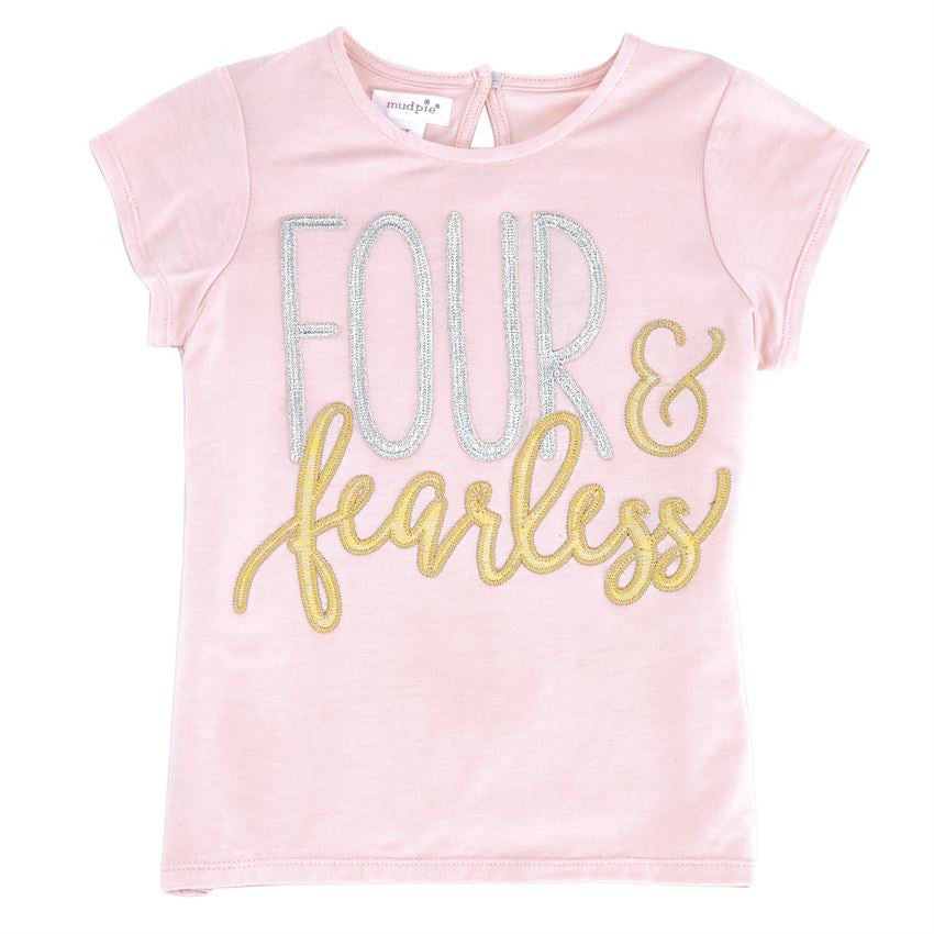 Pink Gold and Silver 4th Birthday Party Outfit