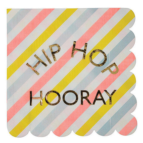 Hip Hip Hooray Easter Themed Party Supplies and Decorations