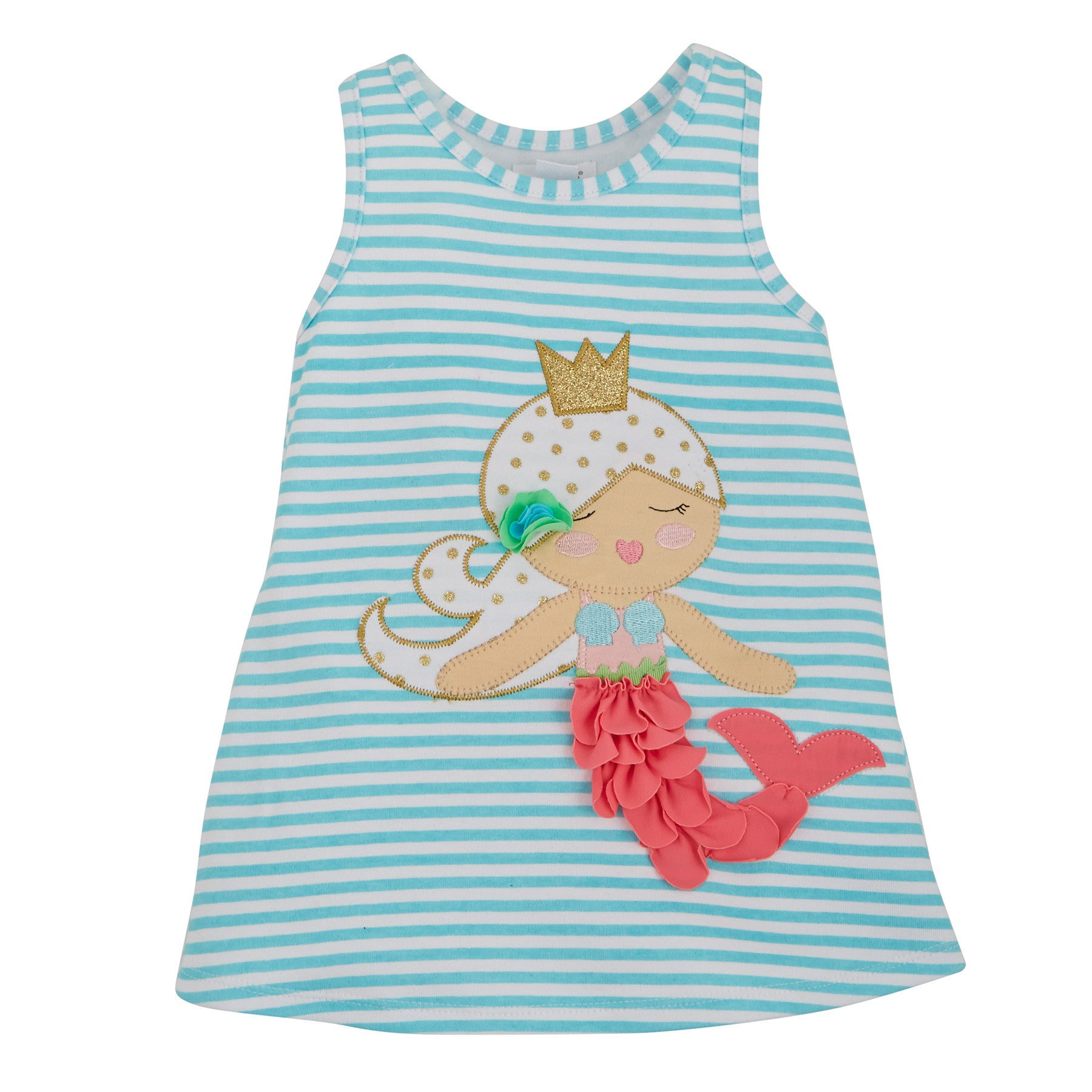 Mermaid Dress for Mermaid Birthday Party- Pixie Dust Party Spot