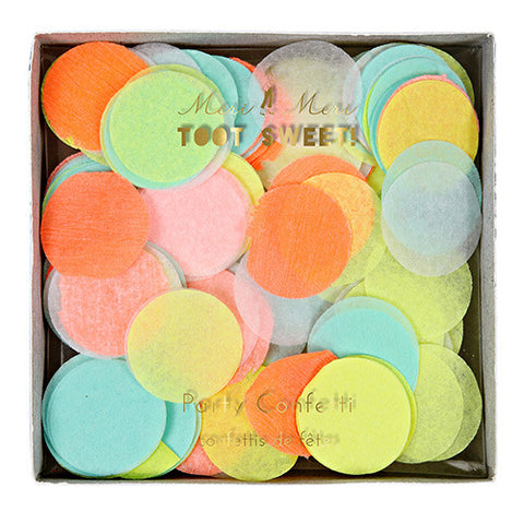 Neon Confetti for Birthday Party