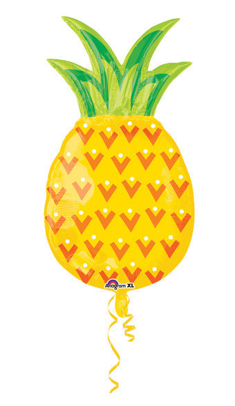 Pineapple Balloon for a Fruit Themed Tropical Party