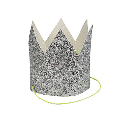 Silver Birthday Party Crown