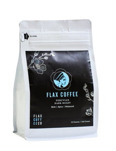 Peruvian - Dark - Flax Coffee