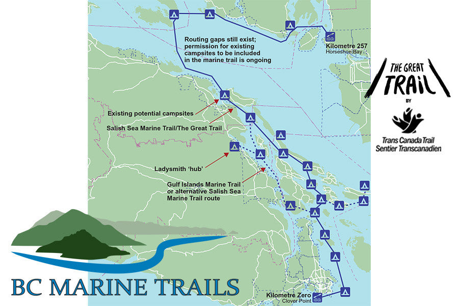 The Salish Sea Marine Trail is born!