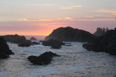 Sunset at Third Beach, Nootka Trail
